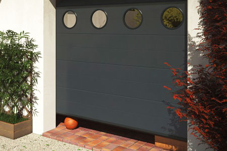 Pose De Portes De Garage Sur Mesure Alu Pvc Acier Bois Au Mans - Porte de garage sectionnelle avec porte d entree pvc